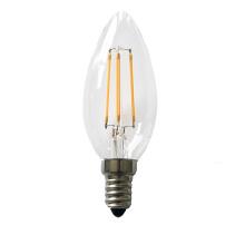 4w hot sale durable super bright E12 E27 B22 led filament candle bulb