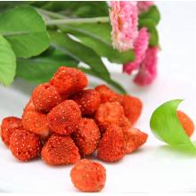 Wholesale crispy freeze dried strawberry, snack fruit,