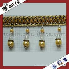 Nouveau design rideau en polyester à perles Franges pour maison décoration Accessoires Beads Curtain