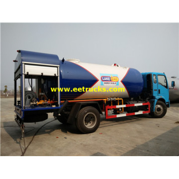 25cbm 10 Wheeler LPG Camiones dispensadores