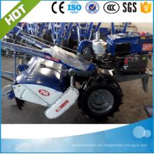 2017 mejor precio agrícola agricultura tractor tractor rotatorio / walking tractor adjuntos rotativo timón