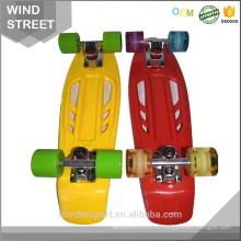 высокое качество дешевые ретро пластиковые крейсеров скейтборд оптовая