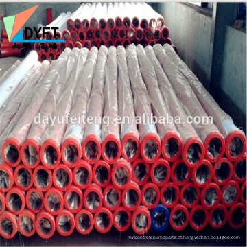bomba de concreto acessórios dn125 dn150 dn175 bomba de concreto tubo de parede dupla
