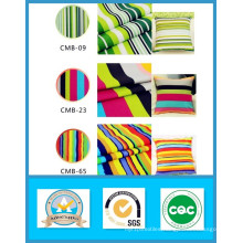 Hot Sale Designs in Stock 65%Cotton 35% Polyester Striped Printed Canvas Fabric
