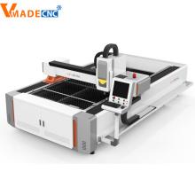 Máquina para corte de metales de fibra de acero 1000W