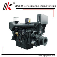 Best chinese supplier small marine 4 cylinder marine inboard diesel engine with gearbox for sale in Bengladesh
