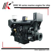 Melhor chinês fornecedor pequeno marine 4 cilindro marinho inboard motor diesel com caixa de velocidades para venda em Bengladesh