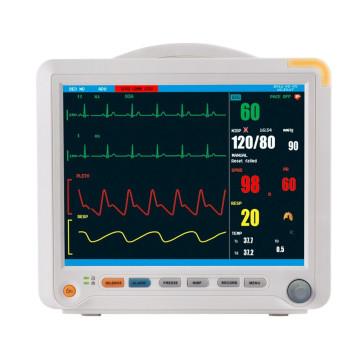 """12.1 """"Dispositivo de monitorización de pacientes multiparámetro"""