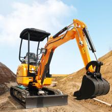Excavatrice chinoise 2T Mini excavatrice hydraulique 2T ensacheuse à vendre