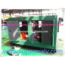 Зеленая мощность 20kva-1000kva низкое потребление & на месте установки генератор биогаза