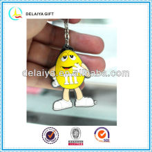 Promotional eco-friendly PVC key chain for children
