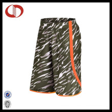 100% Polyester New Pattern Camo Basketball Shorts for Man
