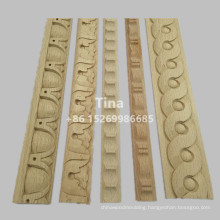 Decorative Carved Beech Wood Moulding