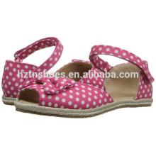 2016 Summer New Style Jute Sole Espadrille Schuh für Mädchen