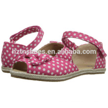 2016 Summer New Style Jute Sole Espadrille Shoe for Girls