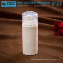 ZB-M80 80ml design simple pompe grosse capacité naturelle rondes personnalisées en gros contenants cosmétiques