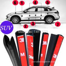 car door rubber seal self adhesive rubber strip foam sponge EPDM