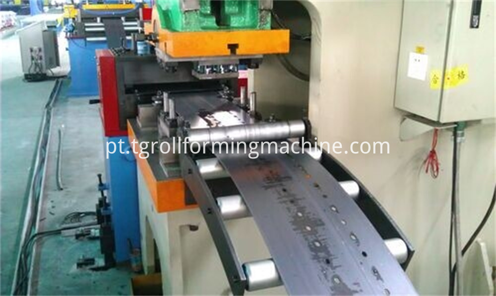 Shelf Baseplate Cold Roll Forming Machine