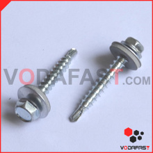 Hex Washer Head Self Drilling Screw with EPDM Washer