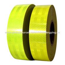 Leuchtstoff grünes Sicherheitsprodukt, reflektierendes Band für Straßenwarnung