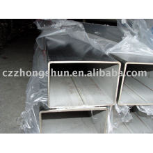 Helle fertige quadratische Stahlrohr / rechteckige Rohr Hohlprofil astm a500