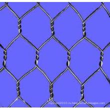 Electro оцинкованной шестиугольной сетки