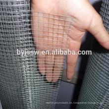 Malla de alambre soldada con autógena galvanizada 3/8 pulgadas