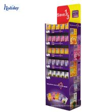 Шоколад Коробка Дисплея Картона Промотирования Шоколада Стеллаж