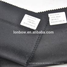 schwarz und marine Farbe auf Lager reiner 100% Kaschmirstoff