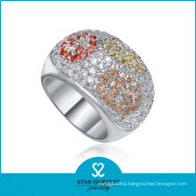 Charming Micro Pave Silver Ring Jewellery for Free Sample (R-0140)