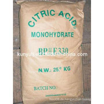 Zitronensäure Monohydrat mit hoher Qualität