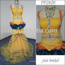 2011 бесплатная доставка высокое качество арабский вечернее платье PP2420 2011