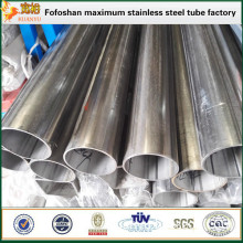 JIS SUS316l stainless steel industrial welded round pipe price per ton