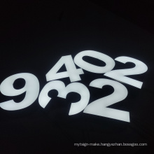 Hotels Logo Designs Big Acrylic Logo Big Letter Neon Back Lit Sign on Wood Illuminated Signs Lights Led Light Letter Alphabet