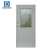 Fangda 36-in 1/2 lite poliuretano injetado portas de vidro deslizantes decorativas
