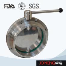 Robinet à papillon en acier inoxydable de 10 po de qualité supérieure (JN-BV1007)