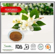 100% Natural Jasmine extract 10:1, Pure Jasmine extract powder, Jasmine flower extract