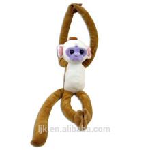 Diseño personalizado mono de colgante de peluche