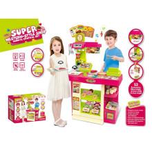 Super Western-Style Shop Cuisine Toys-Play Set avec haute qualité