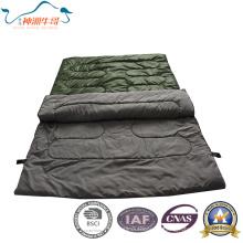 Heißer Verkauf Umschlag-Schlafsack für Camping für zwei Person