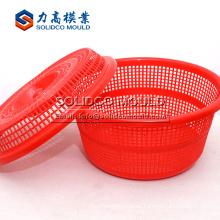 Fabricación modificada para requisitos particulares de la cesta del molde de la fruta de la cocina del lavado