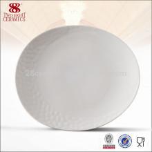 Venta al por mayor de porcelana cerámica, plato resistente al calor