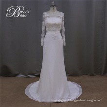 Vestido de Noiva de Laço de Rosa Claro de Laço de Bowknot Romântico