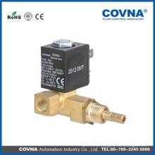 COVNA direta atuando 2 ou 3 maneira electrodomésticos pequenos electroválvula de latão