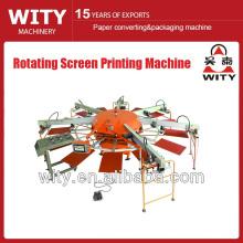 Máquina de impresión giratoria de la pantalla
