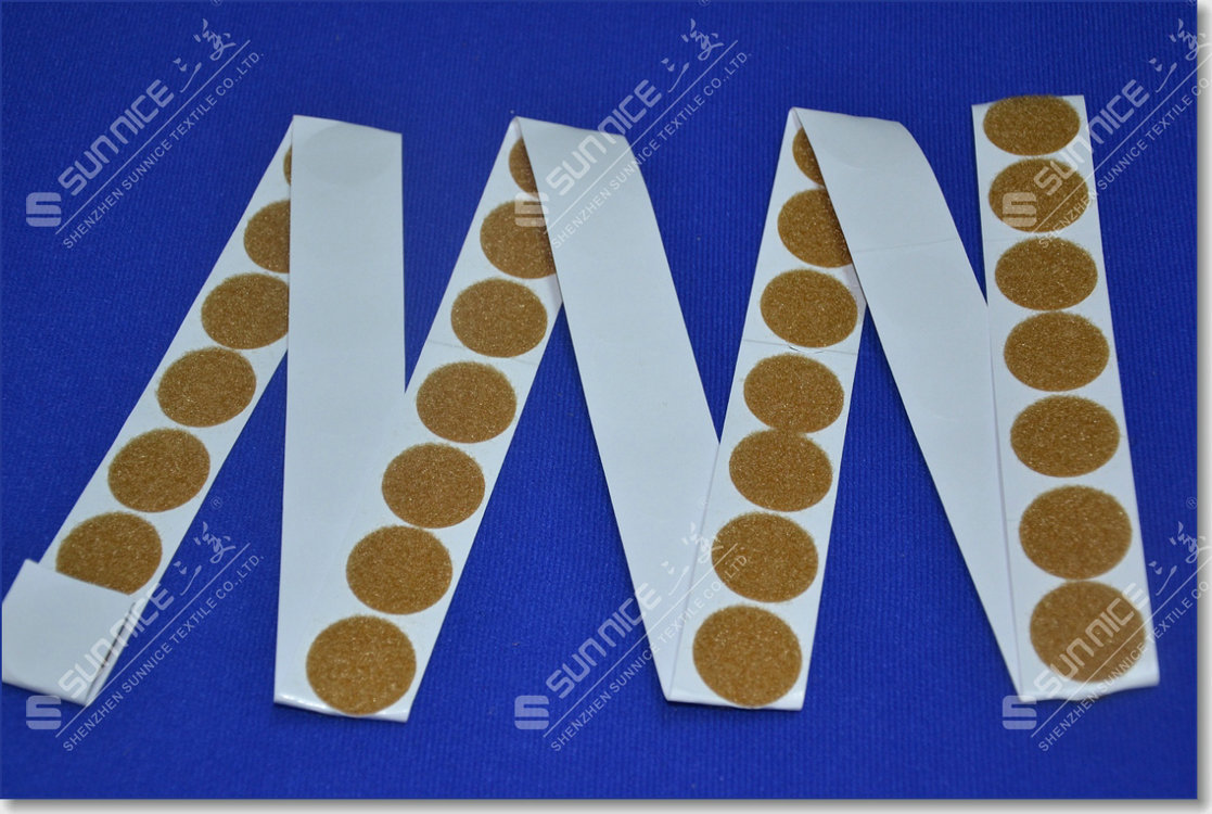 adhesive hook loop dots (1)