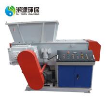 Máquina de reciclaje de residuos de trituradora de eje único