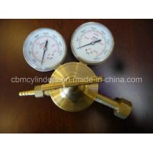 Compressed Gas Regulator for Oxygen/Acetylene/LNG/N2 Uses