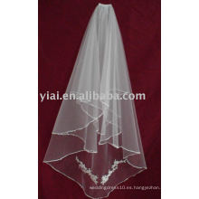 Velo 2013 de la boda de Tulle del Applique V007