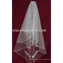 2013 Аппликация Тюль Свадебное Вуаль V007